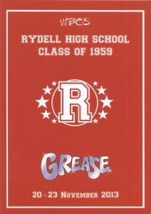 Grease 2013 - Cover