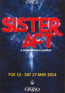 Sister Act 2014 - Cover
