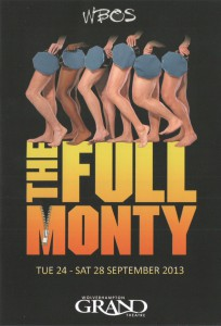 The Full Monty 2013 - Cover